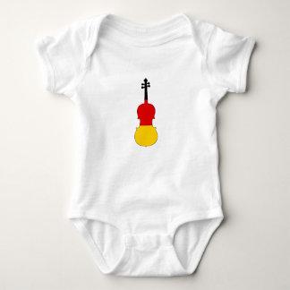 Body Para Bebê Bandeira alemão - viola
