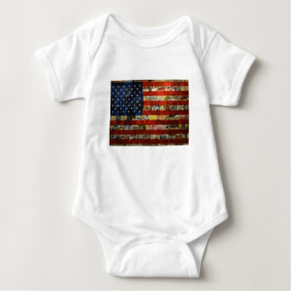 Body Para Bebê Bandeira americana América dos Estados Unidos da