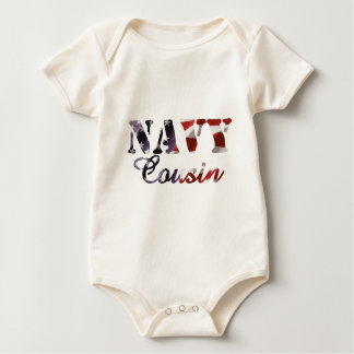 Body Para Bebê Bandeira americana do primo do marinho