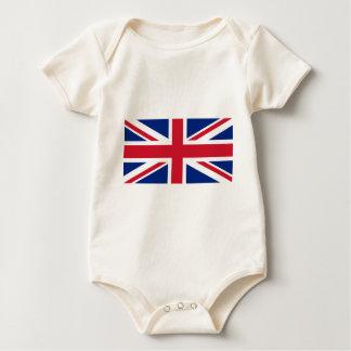 """Body Para Bebê Bandeira BRITÂNICA """"Union Jack """" de Reino Unido da"""