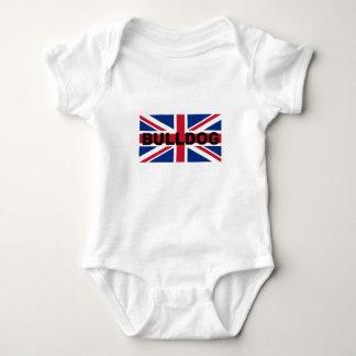 Body Para Bebê bandeira conhecida de Inglaterra United_Kingdom do