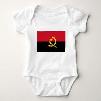 Body Para Bebê Bandeira de Angola - Bandeira de Angola