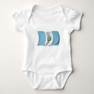 Body Para Bebê Bandeira de Guatemala
