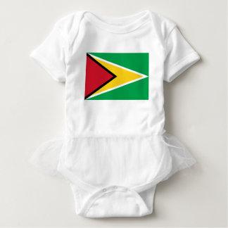 Body Para Bebê Bandeira de Guyana