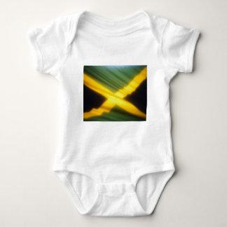 Body Para Bebê Bandeira de Jamaica