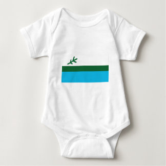 Body Para Bebê Bandeira de Labrador