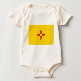 Body Para Bebê Bandeira de New mexico