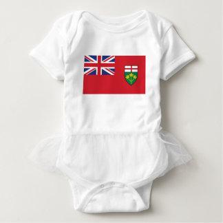 Body Para Bebê Bandeira de Ontário