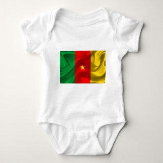 Body Para Bebê Bandeira de República dos Camarões