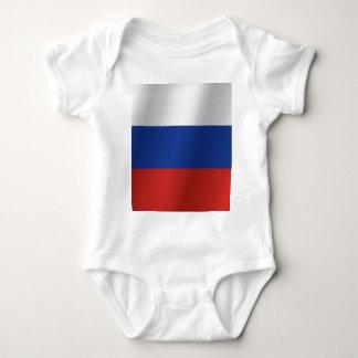 Body Para Bebê Bandeira de Rússia
