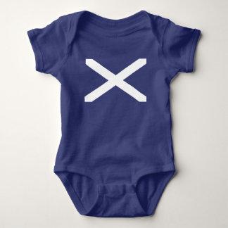 Body Para Bebê Bandeira de Scotland