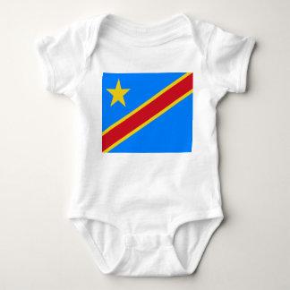 Body Para Bebê Bandeira Democrática do mundo da República