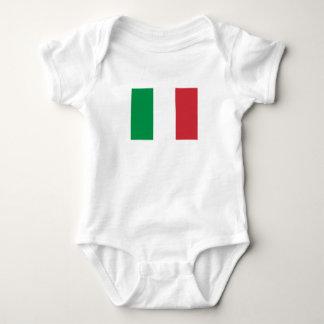 Body Para Bebê Bandeira italiana patriótica