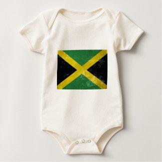 Body Para Bebê Bandeira jamaicana
