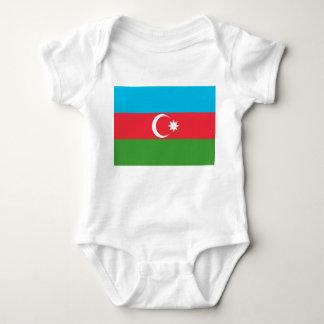 Body Para Bebê Bandeira nacional do mundo de Azerbaijan