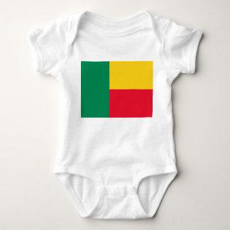 Body Para Bebê Bandeira nacional do mundo de Benin