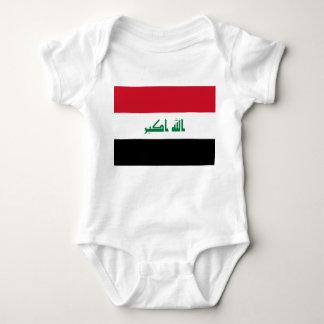Body Para Bebê Bandeira nacional do mundo de Iraque