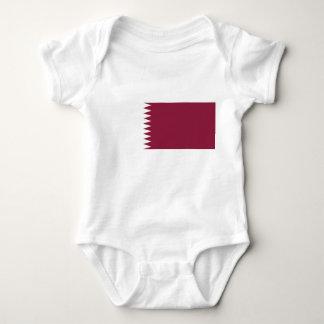 Body Para Bebê Bandeira nacional do mundo de Qatar