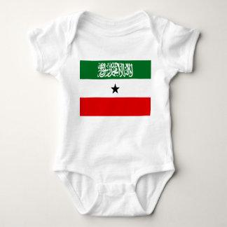 Body Para Bebê Bandeira nacional do mundo de Somaliland