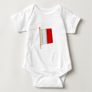 Body Para Bebê Bandeira náutica 'H