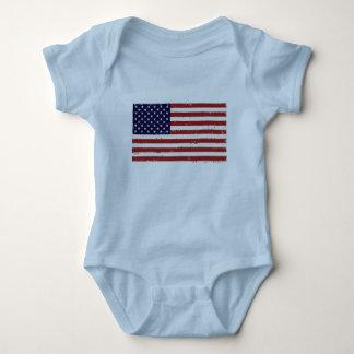 Body Para Bebê Bandeira patriótica