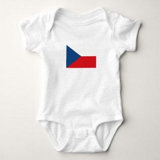 Body Para Bebê Bandeira patriótica da república checa
