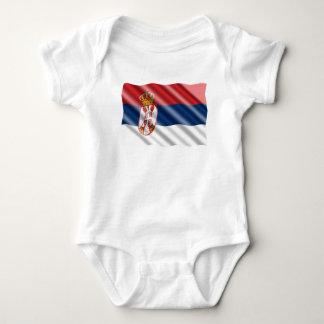 Body Para Bebê Bandeira sérvio