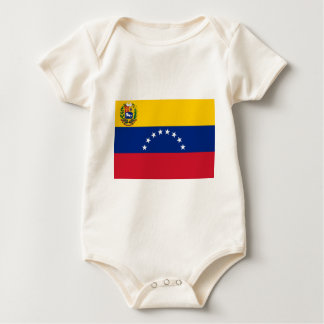 Body Para Bebê Bandeira venezuelana - bandeira de Venezuela -