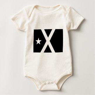 Body Para Bebê Bandera Negra - bandeira de Estelada Catalunya