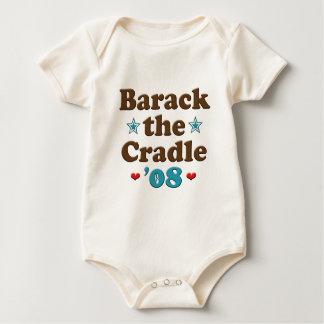 Body Para Bebê Barack o bebê de Obama do berço 08 orgânico