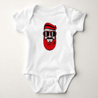 Body Para Bebê barba vermelha