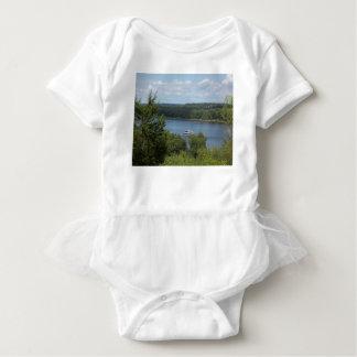 Body Para Bebê Barco do rio Mississípi