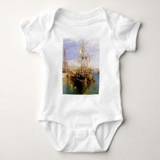 Body Para Bebê barco sem velas