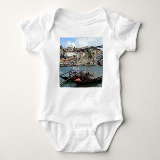 Body Para Bebê Barcos do tambor de vinho, Porto, Portugal