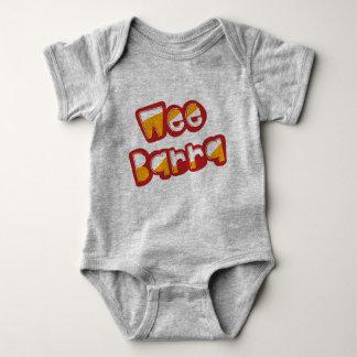 Body Para Bebê Barra pequenino, dialecto escocês Babygrow