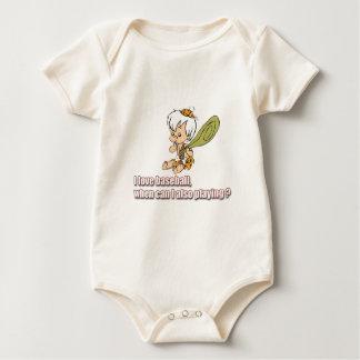 Body Para Bebê Basebol