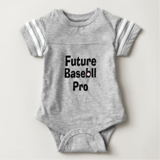 Body Para Bebê Basebol futuro pro
