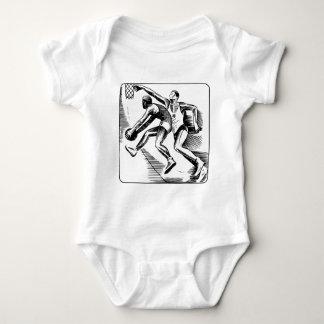 Body Para Bebê basquetebol