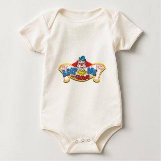 Body Para Bebê Bata-me o palhaço