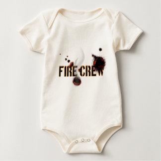 Body Para Bebê batalhão de bombeiros