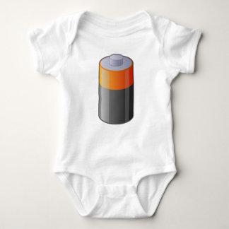 Body Para Bebê Bateria