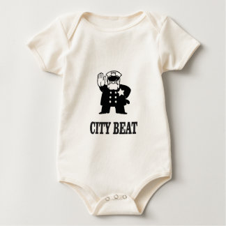 Body Para Bebê batida da cidade