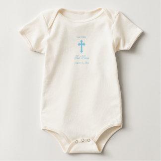 Body Para Bebê Batismo do menino dos deus abençoe  