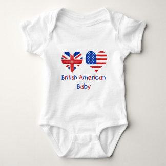 Body Para Bebê Bebê americano britânico