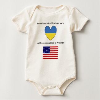 Body Para Bebê Bebê americano ucraniano