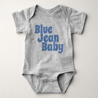 Body Para Bebê Bebê azul de Jean