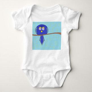 Body Para Bebê bebê azul do pássaro dos desenhos animados
