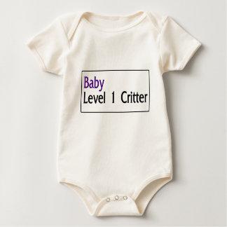 Body Para Bebê Bebê: Bicho do nível 1