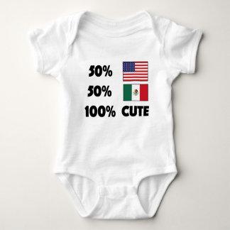 Body Para Bebê Bebê bonito EUA México do mexicano 100% do