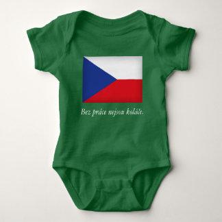 Body Para Bebê Bebê checo Onsie Kolace de Praga